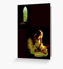 The Price Of Faith Greeting Card