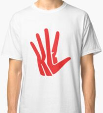 Unofficial Hand Logo - Red Classic T-Shirt