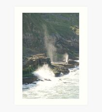 Seaspray Art Print