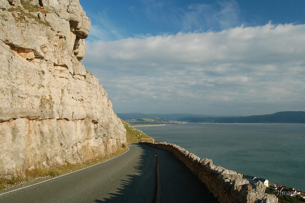 Road on the Orme by JImage