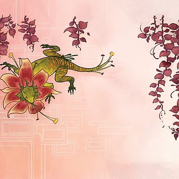 Lily Lizard by rachellynnart