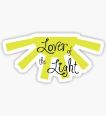 Lover of the Light Sticker