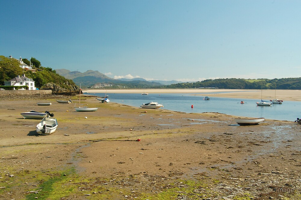 Boats At Borth-y-Gest 2 by JImage