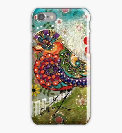 Quirky Bird iPhone Case/Skin