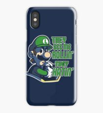 Luigi MK8 - Ridin' Dirty iPhone Case