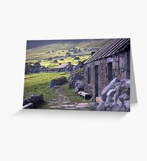 Village street, St Kilda Greeting Card