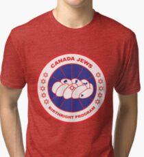 Canada Jews Patch Tri-blend T-Shirt