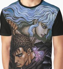 berserk guts and griffith Graphic T-Shirt