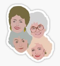The Golden Girls Sticker