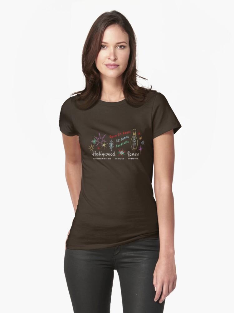 Hollywood Star Lanes (The Big Lebowski) Womens T-Shirt Front