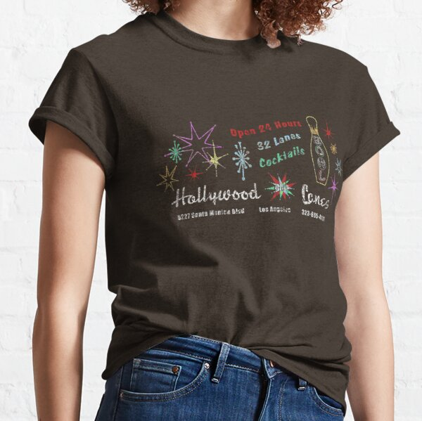 Hollywood Star Lanes (The Big Lebowski) Classic T-Shirt