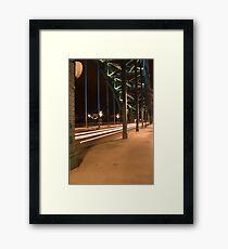 Trails Framed Print