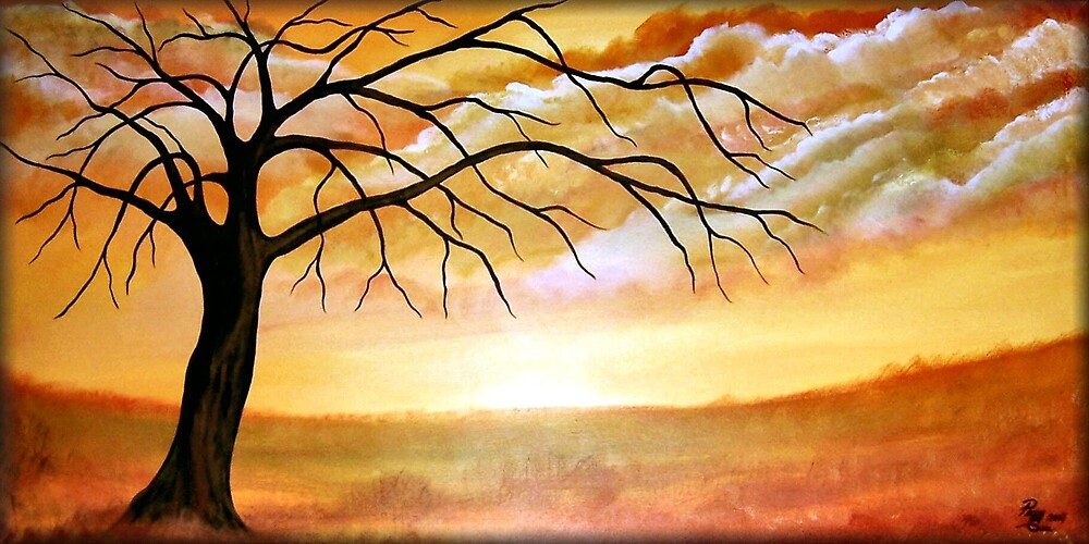 Autumn Afternoon by Peggy Garr