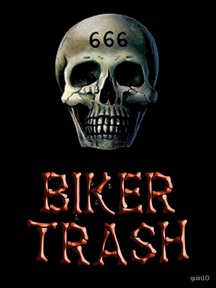 Biker Trash by quin10