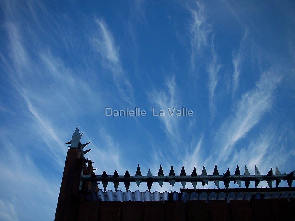 Shooting clouds 1 by Danielle  La Valle