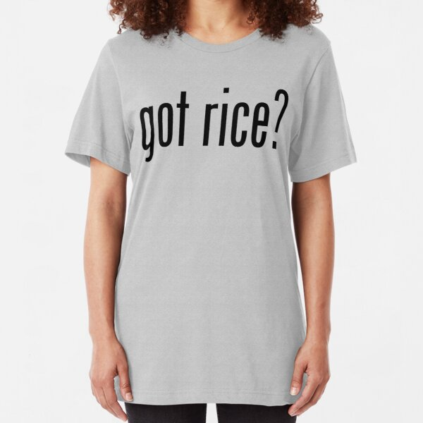 Got Rice Filipino Food Humor by AiReal Apparel Slim Fit T-Shirt