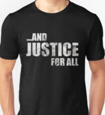 Justice Light Text T-Shirt