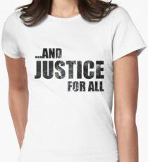 Justice Dark Text T-Shirt
