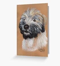 Barney in pastel Greeting Card