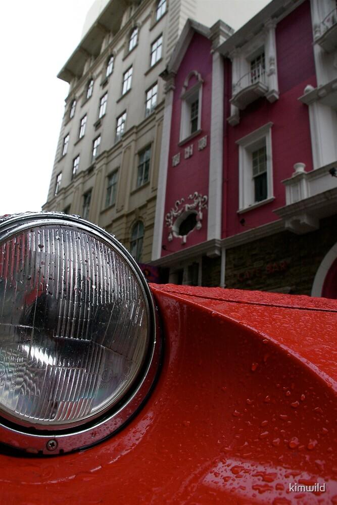 Red Car by kimwild