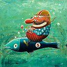 Ride the wild fish by Neil Elliott