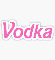 Vodka Sticker