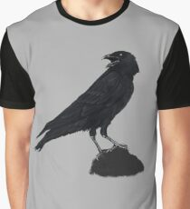 Nights Crow Graphic T-Shirt