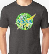 NASA Rick & Morty Unisex T-Shirt