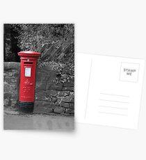 Post box in wall darley dale peak district Postcards