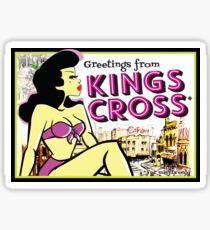 Greetings from Kings Cross Sticker
