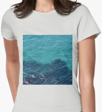 Ocean Bed Womens Fitted T-Shirt