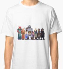 Camiseta clásica Críticos de roles críticos