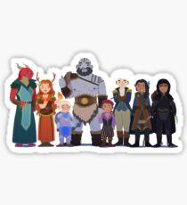 Critical Role Cuties Sticker