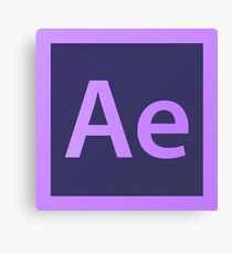 Adobe After Effects Pillows / Acrylic Block Logo Canvas Print