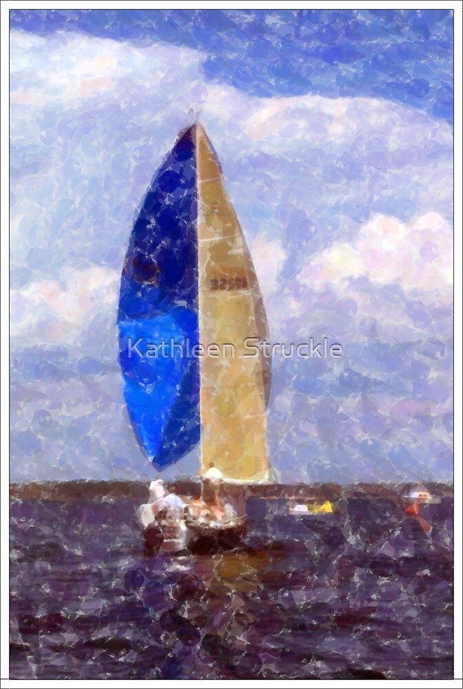 Sailing by Kathleen Struckle
