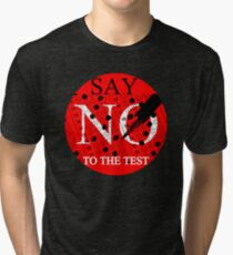 Say No to the TEST Tri-blend T-Shirt