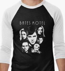 bates motel Men's Baseball ¾ T-Shirt