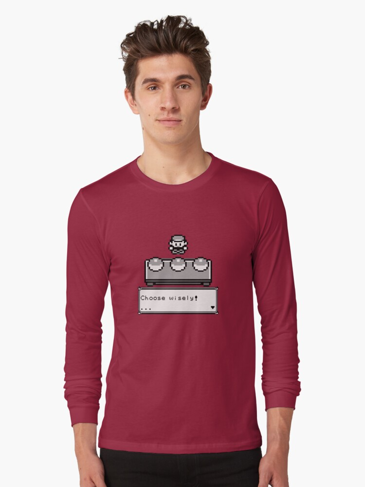 Choose your companion Long Sleeve T-Shirt Front