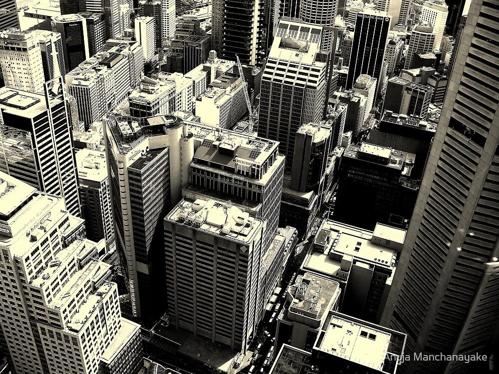 Downtown #3 by Anuja Manchanayake
