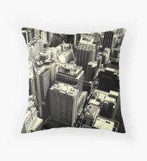 Downtown #3 Throw Pillow