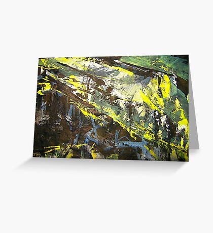 ridge forest storm Greeting Card