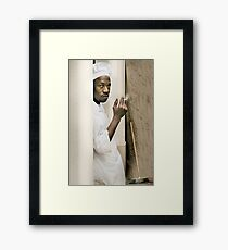 Smoke me a Kipper Framed Print