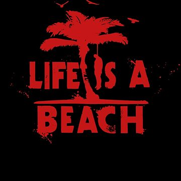 life is a beach by steppi
