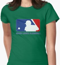 Major League Blernsball Womens Fitted T-Shirt