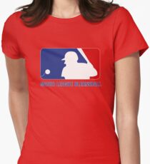 Major League Blernsball Womens Fitted T-Shirt
