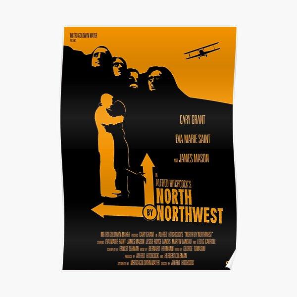 Le nord d'Alfred Hitchcock par le nord-ouest Poster