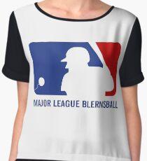 Major League Blernsball Chiffon Top