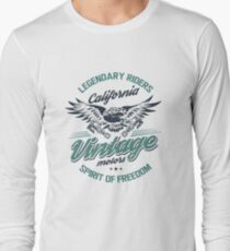 Vintage motors Long Sleeve T-Shirt