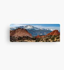 Pikes Peak Panorama Canvas Print