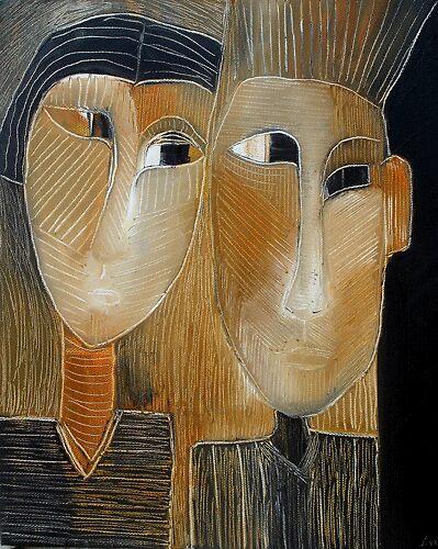 """ART by bec """"Kismet"""" by ARTbybec"""
